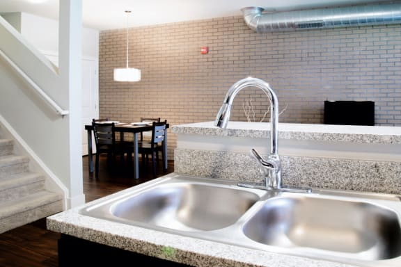 Sink With Faucet at CityWay, Indianapolis, Indiana