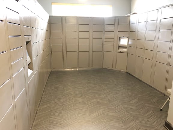 Mail Center and Package Locker Systems at Providence at Old Meridian, Carmel, IN, 46032