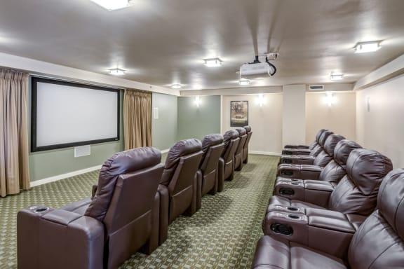 Movie Theater at The Corydon, Seattle, WA