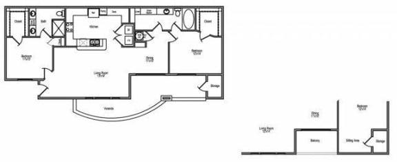 northwest houston 2 bedroom apartments