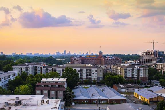Beautiful Atlanta Views at Windsor Old Fourth Ward, Atlanta, Georgia