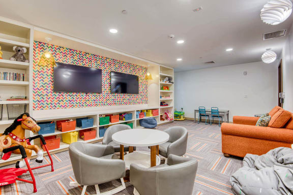 Children's play room at Windsor at Hopkinton, Hopkinton, MA