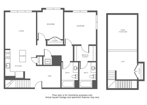 Floor Plan  B12(1) at Windsor at Hopkinton, Massachusetts, 01748, opens a dialog