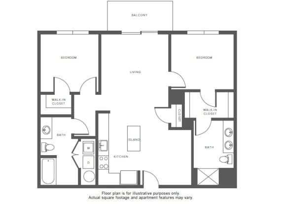 Floor Plan  B5 floor plan at Windsor at Hopkinton, Massachusetts, 01748, opens a dialog