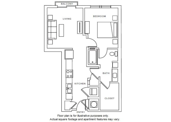 Floor Plan  A2 Floor Plan at Windsor Parkview, 5070 Peachtree Boulevard, 30341
