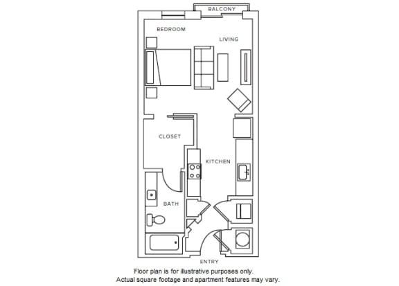 Floor Plan  S2 floor plan at Windsor Parkview, Georgia, 30341