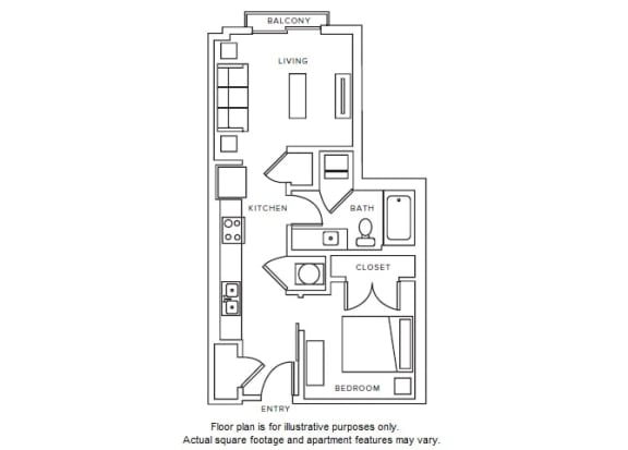 Floor Plan  S3 floor plan at Windsor Parkview, 5070 Peachtree Boulevard, 30341