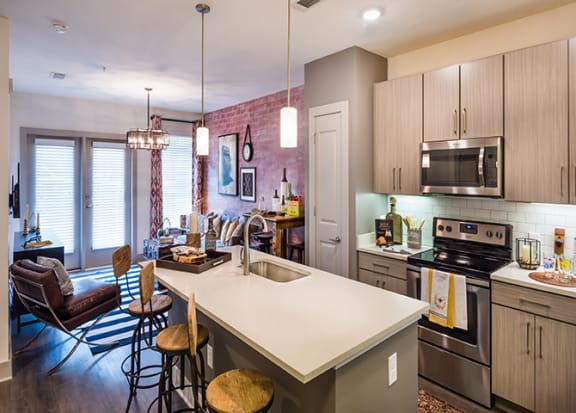 Chef inspired kitchen at Windsor Parkview, 5070 Peachtree Boulevard, 30341