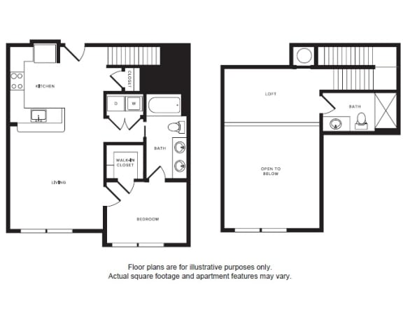 Floor Plan  A6L floor plan at Windsor Shepherd, Texas, 77007