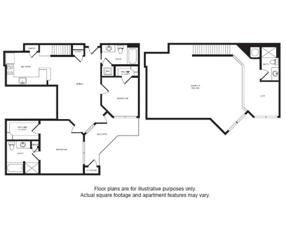 Floor Plan  B2L floor plan at Windsor Shepherd, Texas, 77007