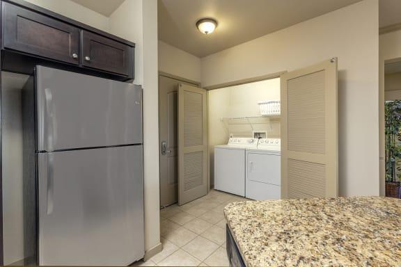 Modern Laundry Room at 55+ FountainGlen  Jacaranda, California, 92833