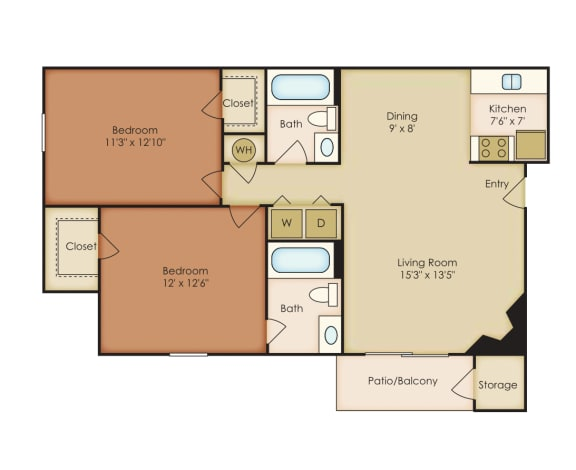 Floor Plan  Magnolia 1