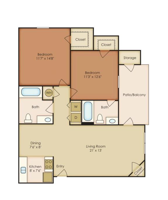 Floor Plan  Magnolia 2