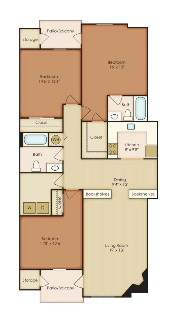 Floor Plan  Oleander 2