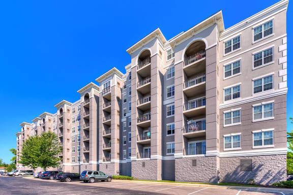 Apartment Entrance at The MilTon Luxury Apartments, Vernon Hills, 60061