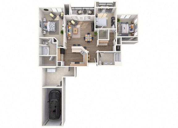 Floor Plan  Terramar Floor Plan  at Waterford at Peoria, Peoria, AZ, 85381