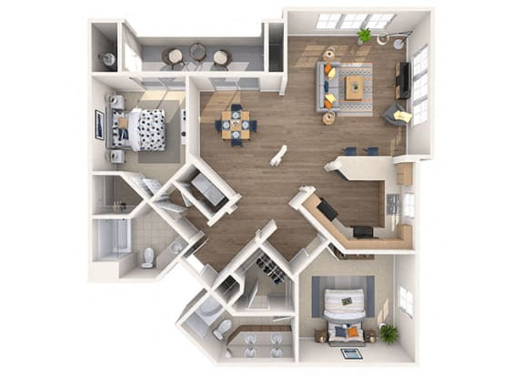 Floor Plan  DiMaggio