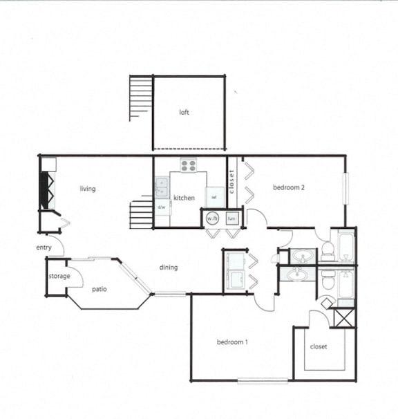 2x2 - Phase I (1075-1145 sq ft)(1)
