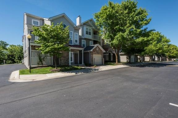 Neighborhood feel Owings Park Apartments in Owings Mills