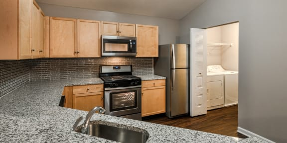 Granite Countertops at Owings Park Apartments
