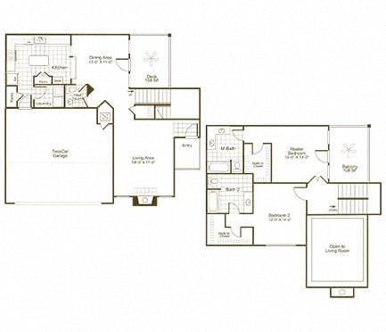 The Lex at Brier Creek B5 floor plan