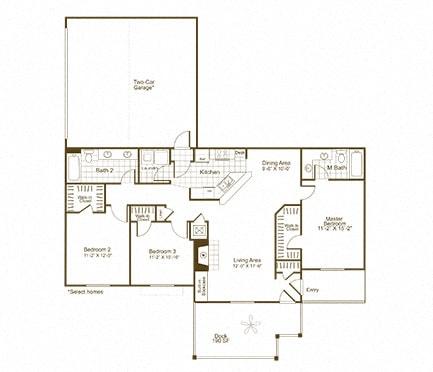 C1K floor plan
