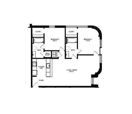 Floor Plan  B11