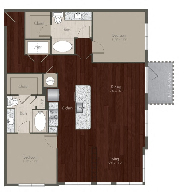 two bedroom apartments in uptown dallas