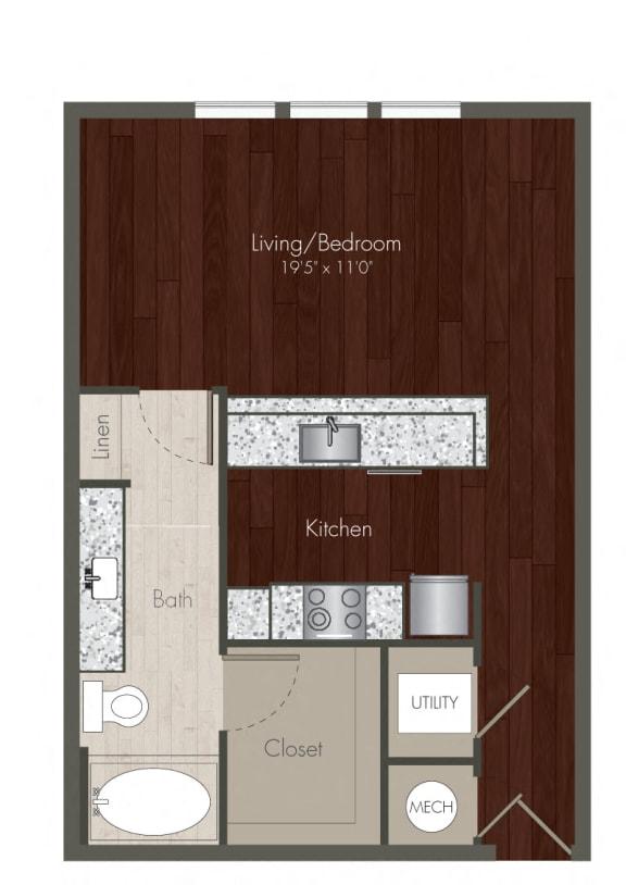studio apartments in uptown dallas