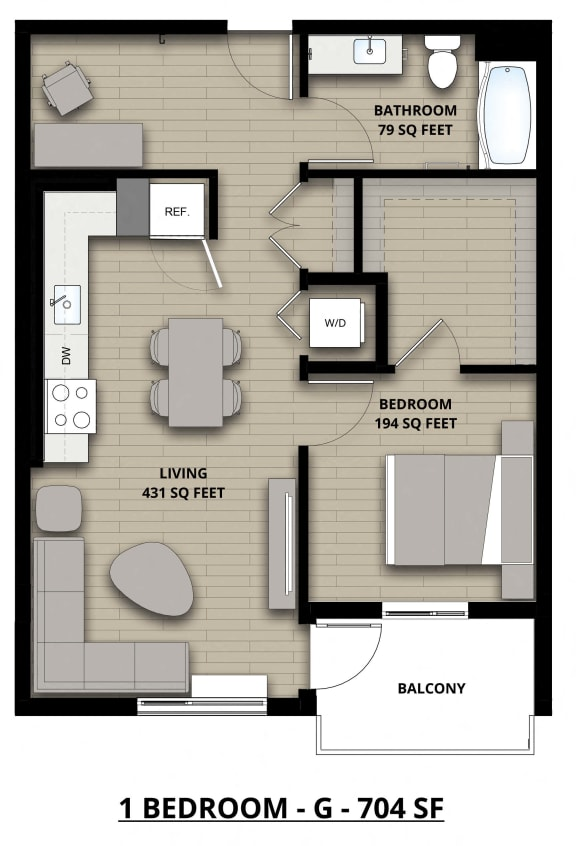 Floorplan G 1x1