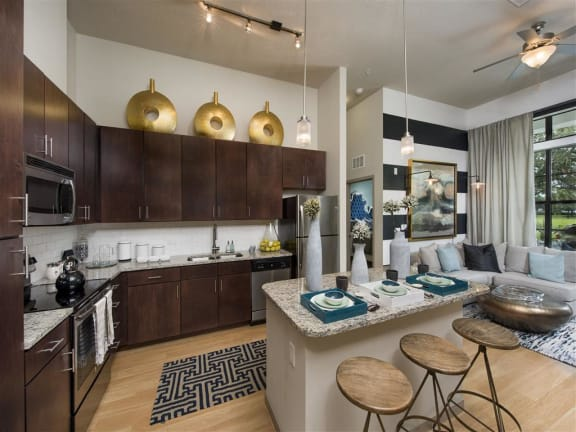 Chef-Inspired Kitchens at Azul Baldwin Park, Orlando, Florida