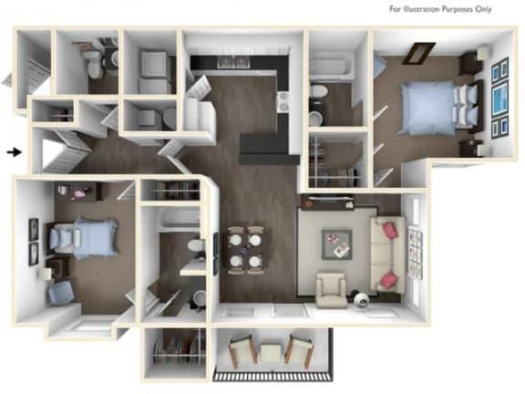 Floor Plan  2X2.5