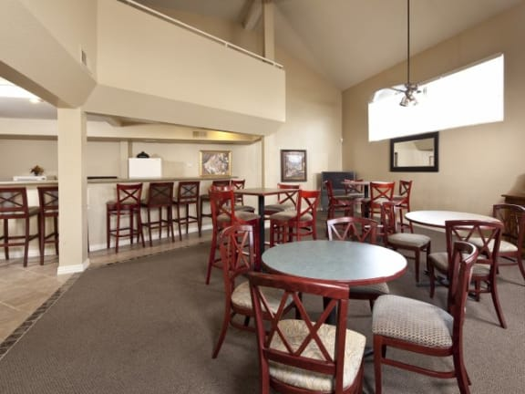 Clubhouse at Casa Bella Apartments in Tucson, AZ