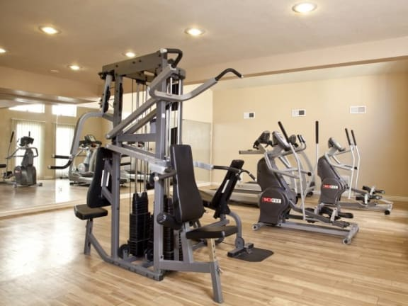 Community Fitness Room at Casa Bella Apartments in Tucson, AZ
