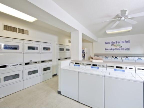 Community Laundry Facility at Casa Bella Apartments in Tucson, AZ