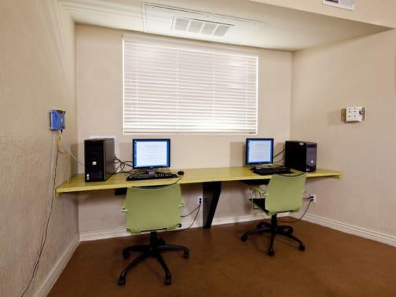 Computer Center at Casa Bella Apartments in Tucson, AZ