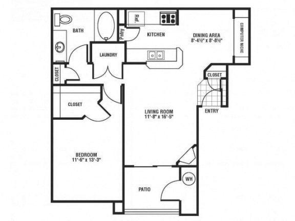 Bobwhite Floor Plan