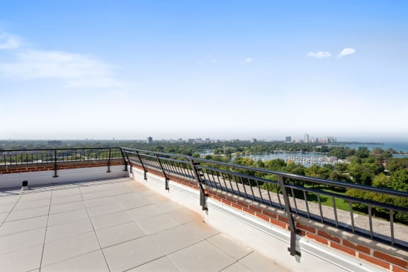 Scenic Views of Lake Michigan and Jackson Park at Park Heights by the Lake Apartments, Illinois, 60649