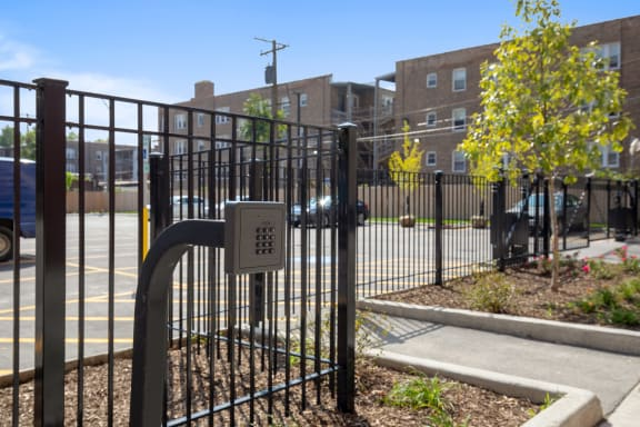 Electric Vehicle Charging Station at Park Heights by the Lake Apartments, Illinois, 60649