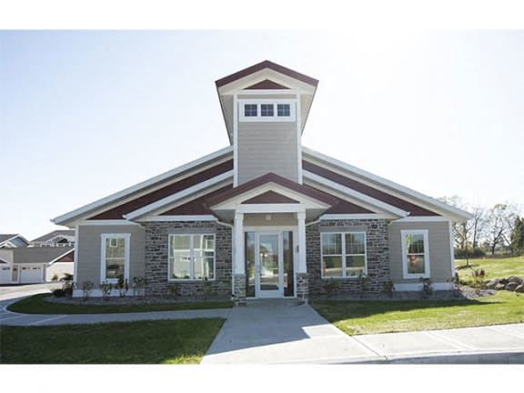Clubhouse including fully equipped 24 hour fitness center, Cyber Cafe, Club Room with Full Kitchen at Cedar Place Apartments, Cedarburg, WI, 53012