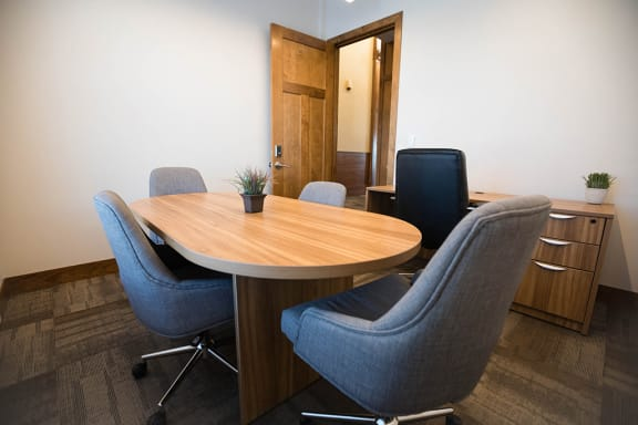 Conference Room In Business Center at Cedar Place Apartments, Wisconsin