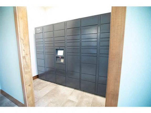 Luxor Package Locker at Cedar Place Apartments, Cedarburg