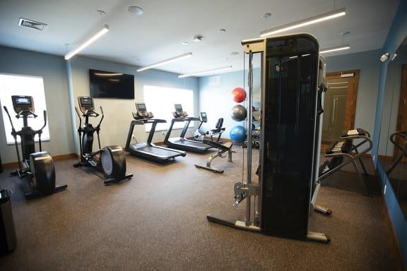 Fitness Center Access at Cedar Place Apartments, Cedarburg, WI, 53012