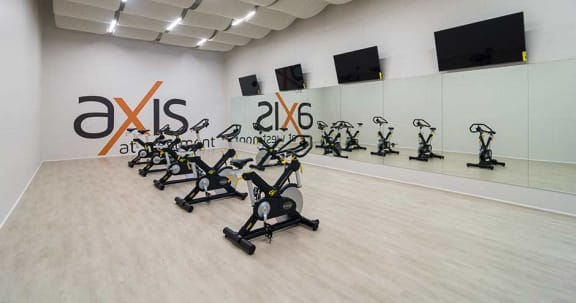 Newly Renovated Fitness Center at Axis at Westmont, Westmont, Illinois