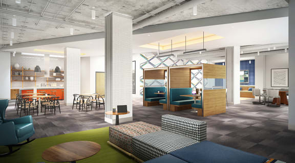 Over 20,000 Square Feet of Amenity Space at Link Apartments Innovation Quarter, Winston-Salem, 27101