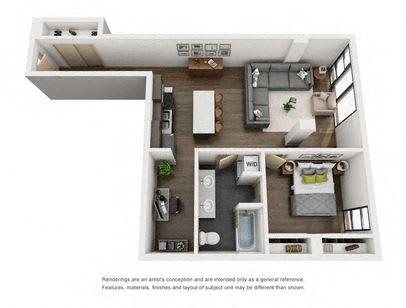 Floor Plan  1-5 Bed A