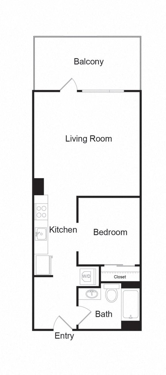 Floor Plan  Couch9FP_B_1b1b_613sf