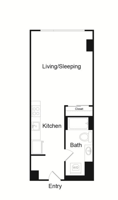 Floor Plan  Studio A