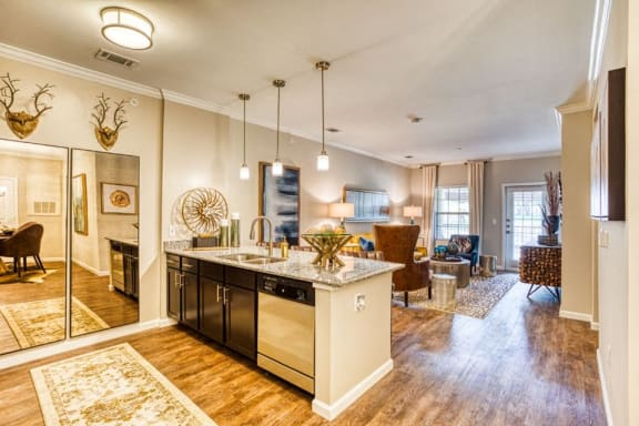 Eat-in Kitchen With Pantry, at Carroll at Rivery Ranch, Georgetown, TX