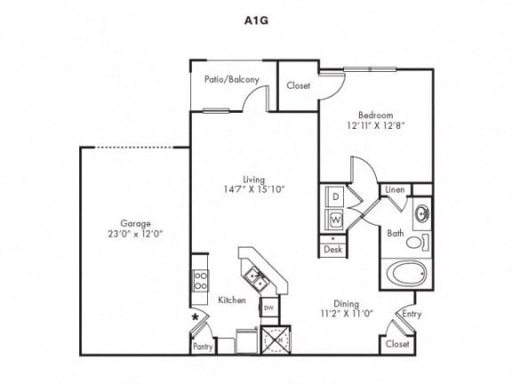 A1G Floorplan